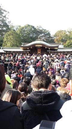 初詣・諏訪神社