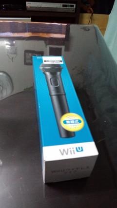 WiiUワイヤレスマイク